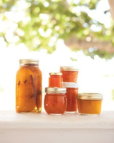 Peach jam recipe for Peach preserves no pectin