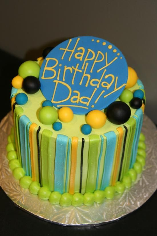 8 best Dad birthday cake images on Pinterest Birthday ideas