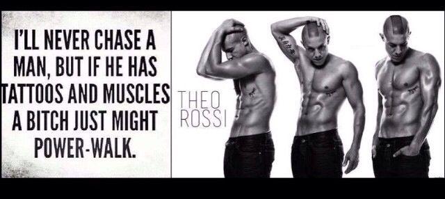 ... I'd probate put my skates on for Theo Rossi #juice #soa #loooove