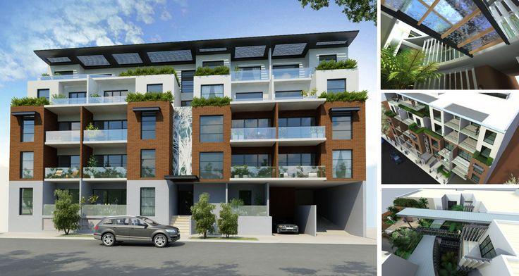 Archiplan // Franzone Apartments East Perth // 55 Apartments