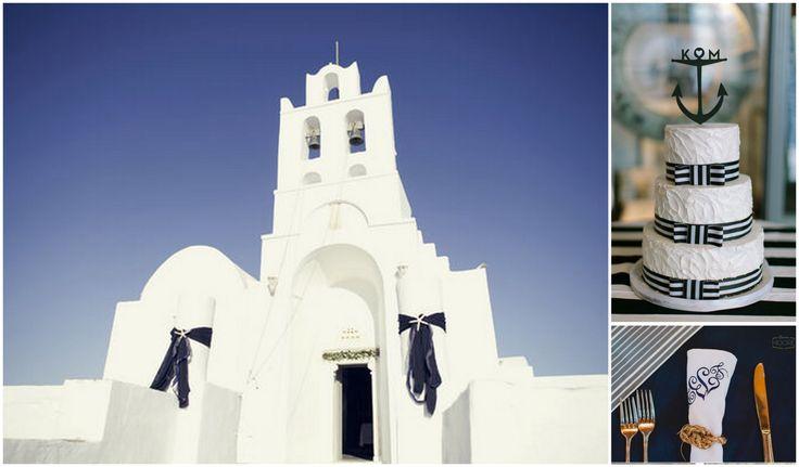Aegean blue Wedding themed