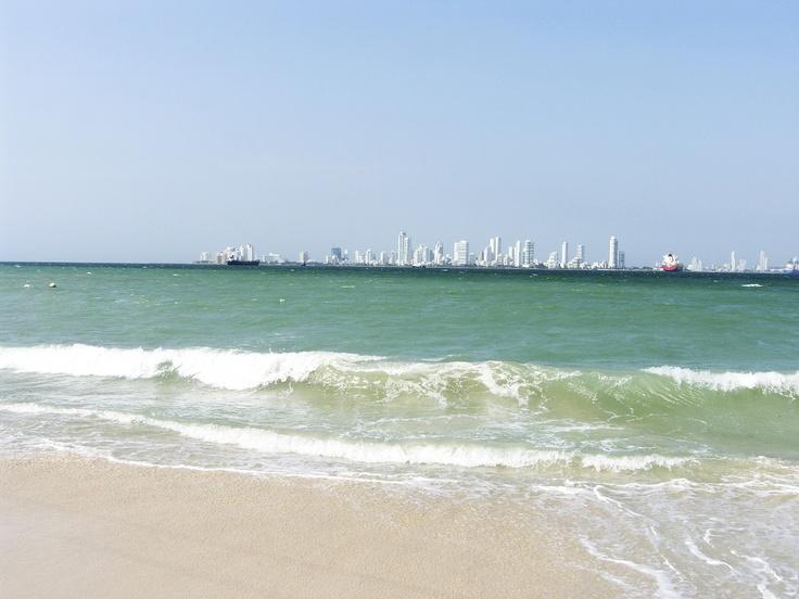La playa en Belmira Casa Boutique, Isla Tierra Bomba Cartagena de Indias Colombia