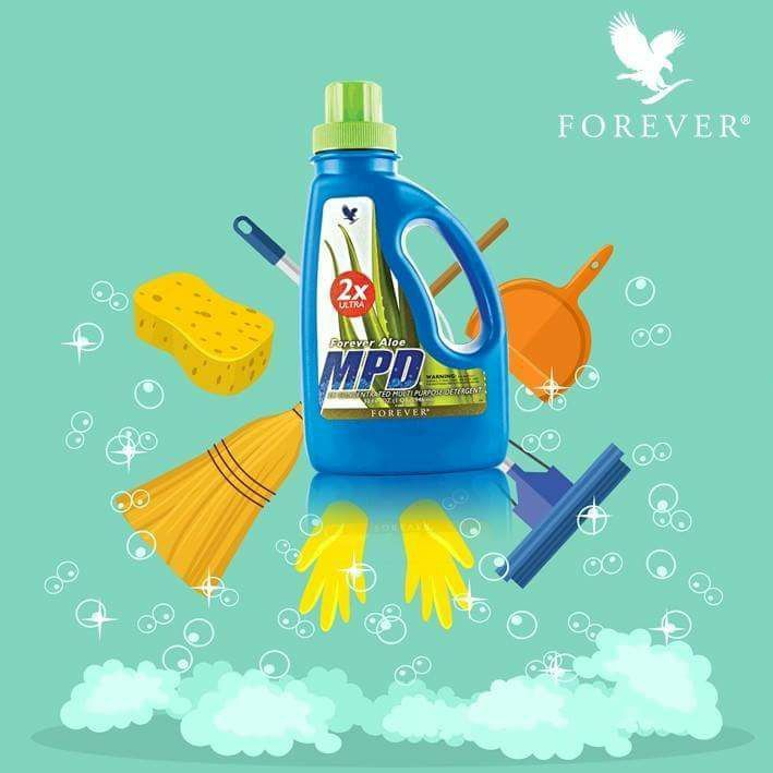 FOREVER ALOE MPD 2X ULTRA All purpose Cleaning Remove Stains also Disinfectant