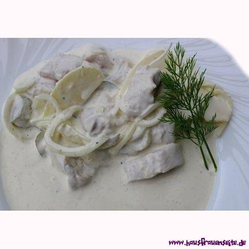 Matjes - Rezept nach Hausfrauenart  Matjes nach Hausfrauenart - Eines unserer liebsten Fischrezepte, kann ich euch nicht vorenthalten! glutenfrei