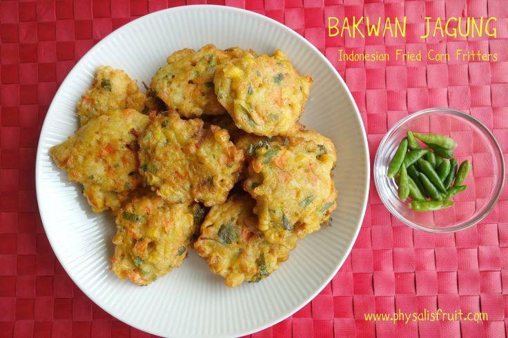 Bakwan Jagung ~ Physalis Fruit