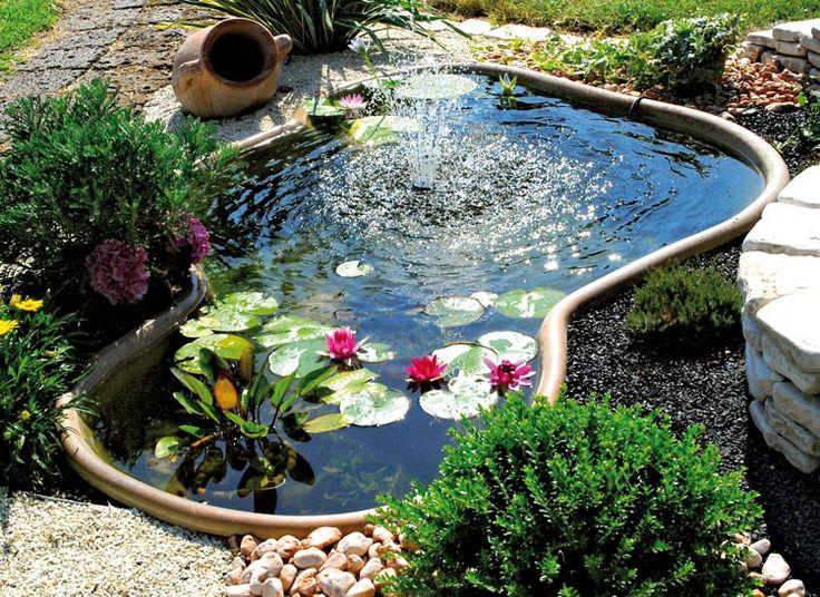 Oltre 25 fantastiche idee su laghetti da giardino su for Vasche pesci da giardino