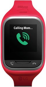Verizon wireless LG gizmo gadget watch is the perfect answer to the question Does my child really need a cell phone?