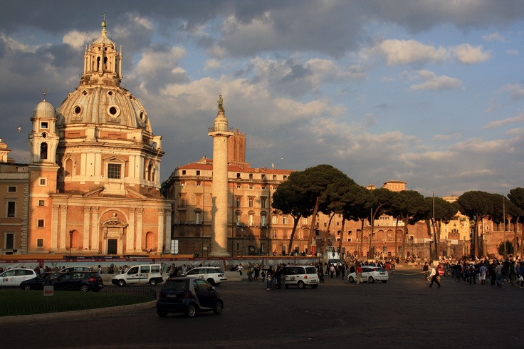 Rome, I really want to go back..great atmosphere, great guide :-)