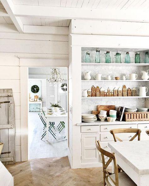 White Kitchen Shelf best 25+ white farmhouse kitchens ideas on pinterest | farmhouse