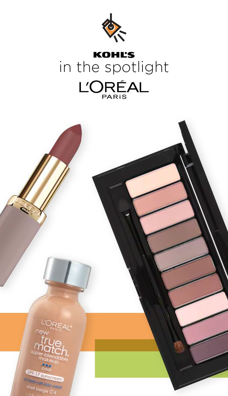 In The Spotlight Find L Oreal Paris Makeup At Kohl S Create The Latest Looks For Spring With Colour Riche Ult Loreal Paris Voluminous Original Mascara Loreal
