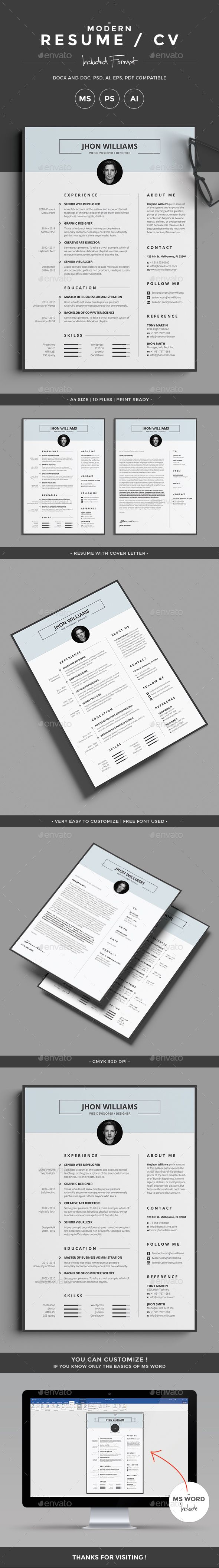 Best 25 Simple cv template ideas on Pinterest