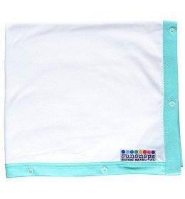 Sunsnapz UV Schaduwdoek Aqua-Blauw