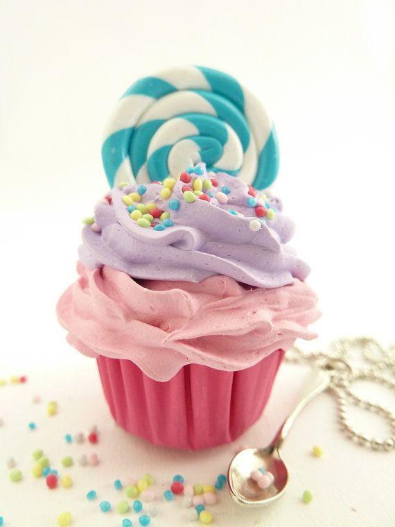 Hey, I found this really awesome Etsy listing at https://www.etsy.com/listing/95808301/lollipop-cupcake-necklace-with-small