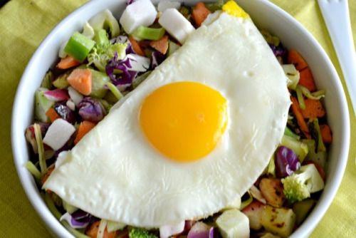 Salad for breakfast! Turn over a new leaf and start your  Mein Blog: Alles rund um die Themen Genuss & Geschmack  Kochen Backen Braten Vorspeisen Hauptgerichte und Desserts