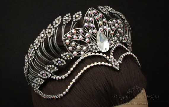 Hey, I found this really awesome Etsy listing at https://www.etsy.com/nz/listing/238432739/odile-ballet-headpiece-for-swan-lake