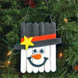 Μαμά πρωτάρα: DIY Στολίδια για το χριστουγεννιάτικο δέντρο με ξυλάκια παγωτού
