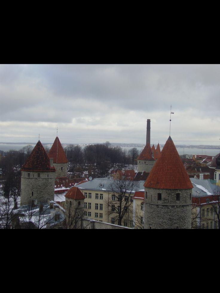 Le medieval Tallin Estonia