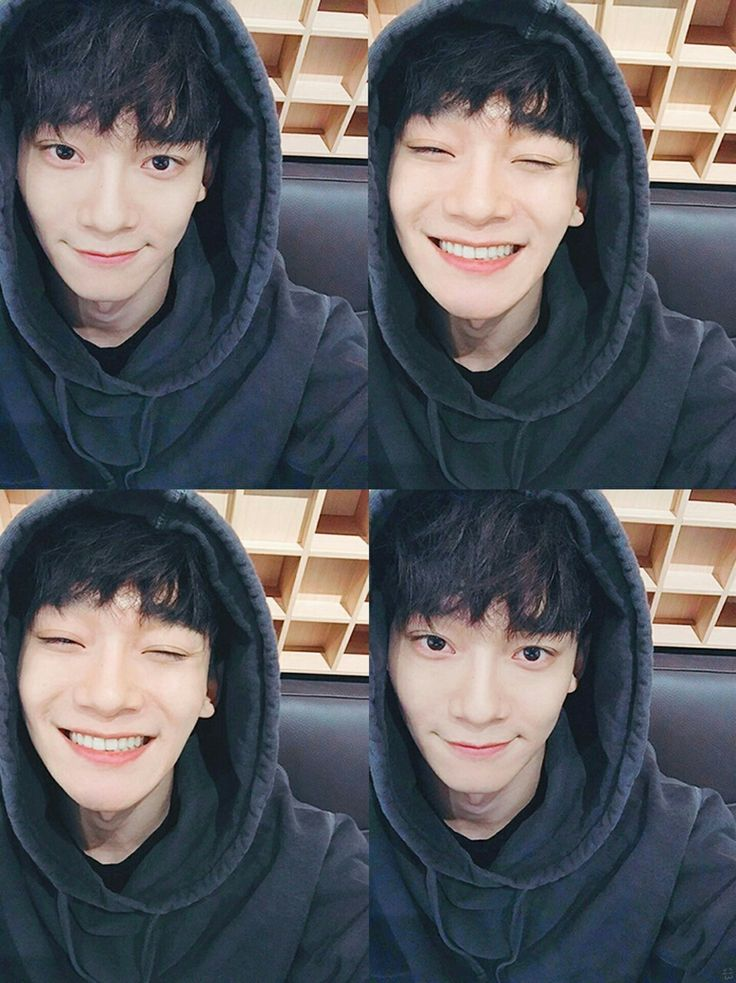 Cute no makeup Chen <3