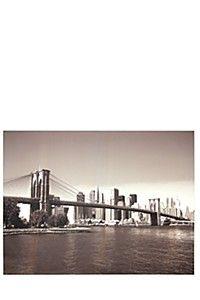 BROOKLYN BRIDGE 90X120CM WALL ART - OMG!!! LOVE this!!