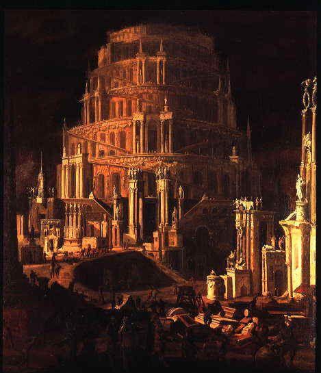 .Monsù Desiderio es el nombre dado a un artista que han pinto escenas de arquitectura con un estilo distintivo en Nápoles a principios del siglo XVII.
