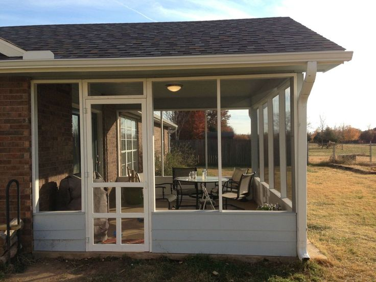 How To DIY A Screened In Patio For Only $500 (PHOTOS)