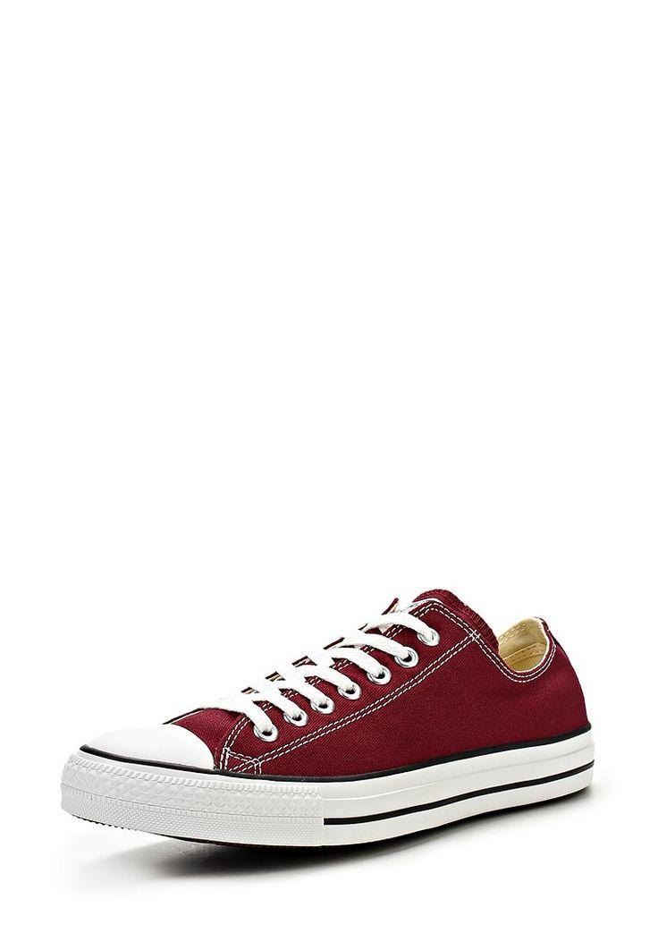 Классические кеды унисекс от Converse выполнены из темно-красного износоустойчивого текстиля с традиционной белой подошвой и прорезиненной носочной частью. Детали: функциональная шнуровка; логотип бренда на пяточной части.