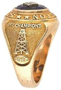 1961 AFL Champions Houston Oilers beat the Chargers