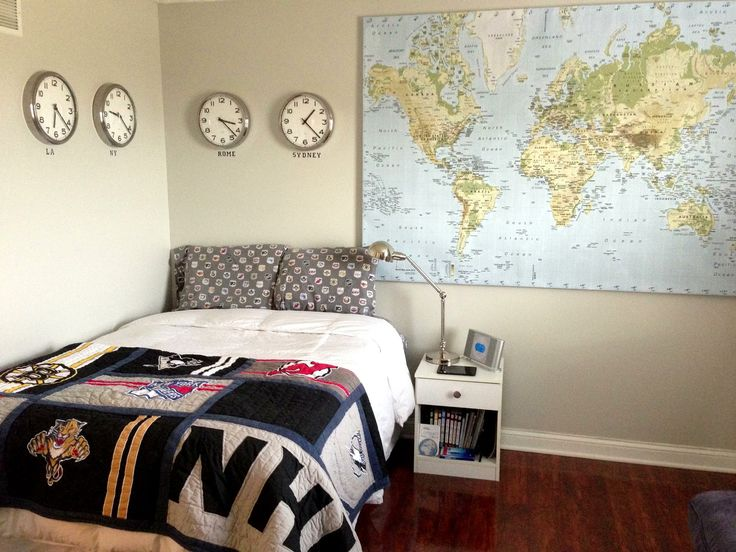 26 best world maps images on pinterest world maps for Decor zone bedroom