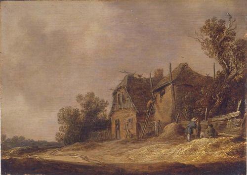 Van Goyen was born in Leiden 17de eeuw