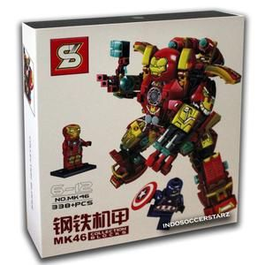LEGO SY MK46 Iron Man Mecha Collection Blocks Edition MK 46