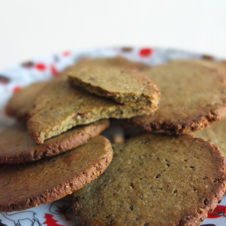 Buckwheat and nut superfood cookies (biscuits) - lili's cakes