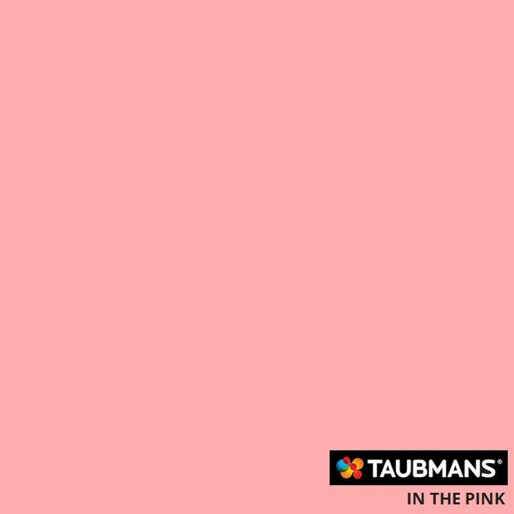 #Taubmanscolour #inthepink