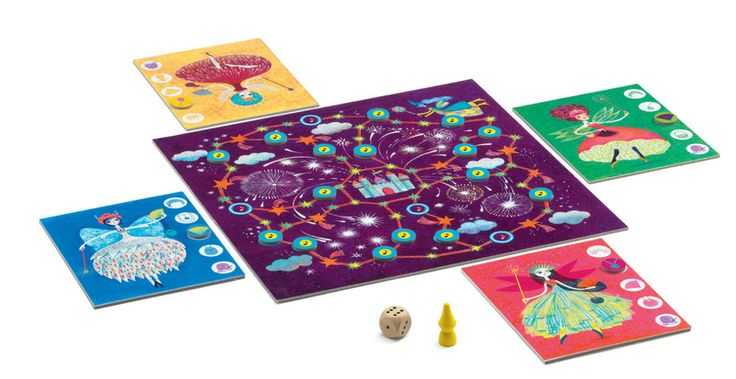 DJ8456 - Fee Toitibelle Fairy Game by Djeco. Distributed by Kaleidoscope.