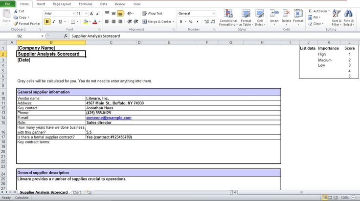 grocery list excel template Excel Templates Pinterest - contact list excel template