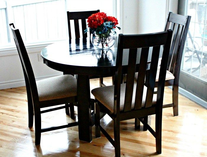 Refinishing A Dining Room Table Interesting Design Decoration