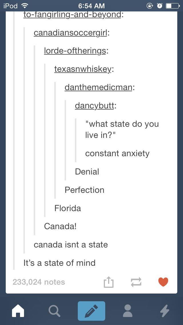 Hahahaha Canada