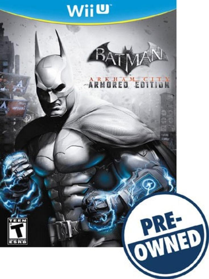 Batman: Arkham City Armored Edition — PRE-Owned - Nintendo Wii U