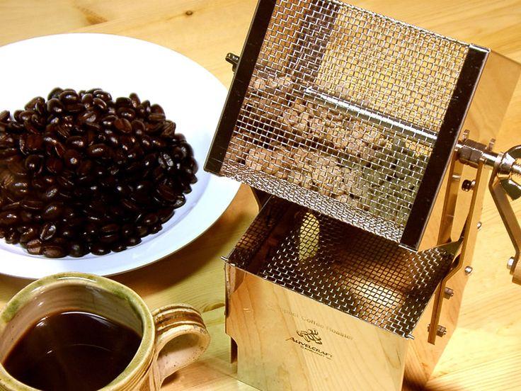 遠赤コーヒー焙煎キット:究極のコーヒーは自家焙煎から始めよう!-手作りキットのアウベルクラフト