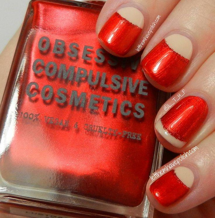 Red Nails. Vintage Inspired with OCC Mein Herr & Lustgarten