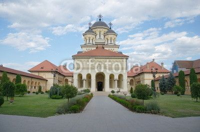 The Coronation Archbishop Cathedral in Alba Iulia, Transylvania