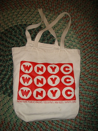 e5a318ce28 updated  the wnyc eco-tote bag is still available! I should have had faith  in WNYC not to change a good thing. matched donation