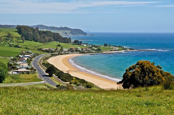 Preservation Bay (#Penguin), north west coast #Tasmania - photo by Carol Haberle, article for think-tasmania.com ~ #Tasmania #beach