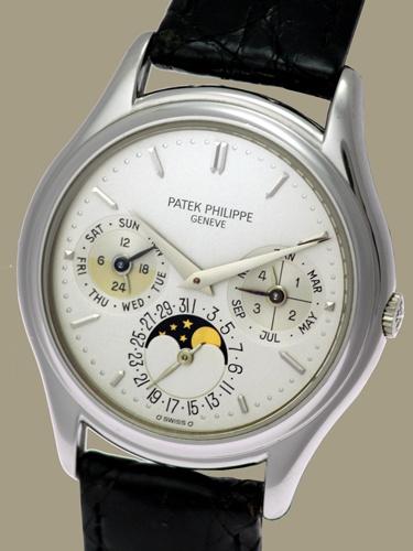 rare Ref. 3940 Perpetual - Patek Philippe & Cie. - - Primetime24 - Antique Clocks