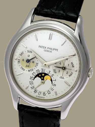 rare Ref. 3940 Perpetual - Patek Philippe & Cie. - - Primetime24 - Antique Clocks