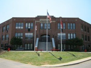 Canton Middle School, formerly Canton High School where Grandaddy & Grandmother went