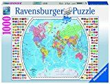 Ravensburger Political World Map Jigsaw Puzzle (1000 Piece)  List Price: $19.99  Deal Price: $16.70  You Save: $3.29 (16%)  Ravensburger Political World Jigsaw Puzzle  Expires Jan 14 2018