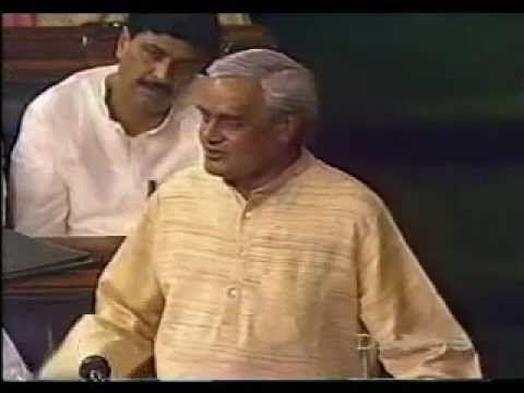 Atal Bihari Vajpayee Speech : I Am Not Afraid of Death