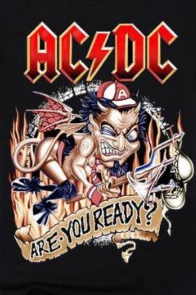 Sexy Ac/Dc Razors Edge Promo T Shirt Xl New  | eBay