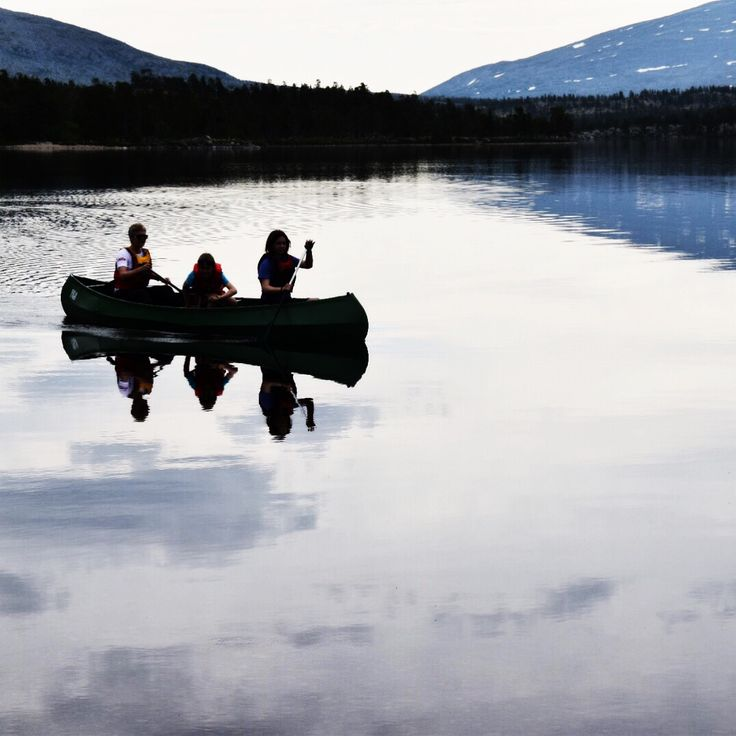Canoeing in norway