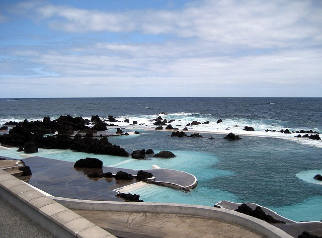 Natural Swimming Pool - Porto Moniz, Madeira, Portugal